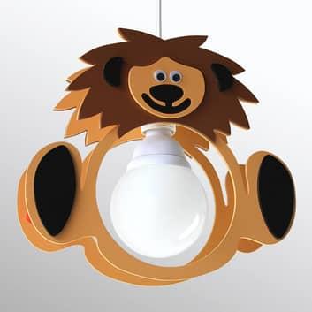 Løve Leo hængelampe til børneværelse