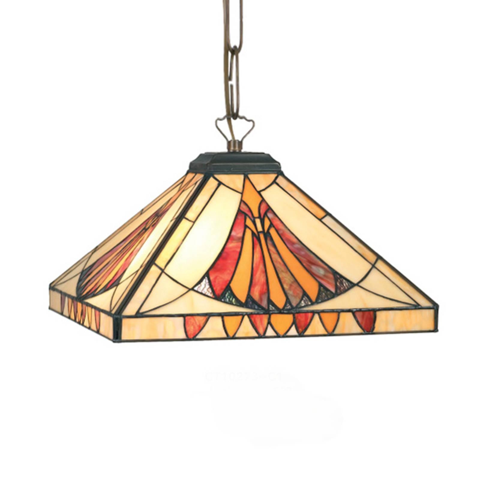 Kwadratowa lampa wisząca AMALIA