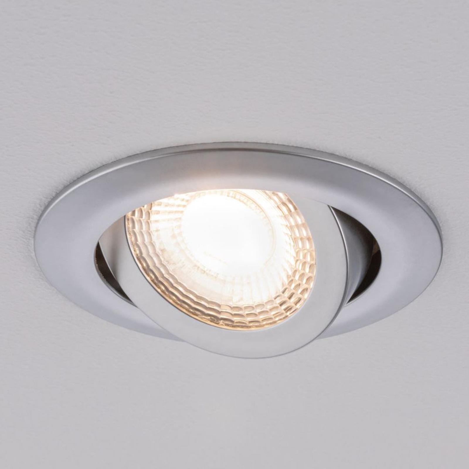 Paulmann 92986 LED inbouwspot 3 x 6W, chroom mat