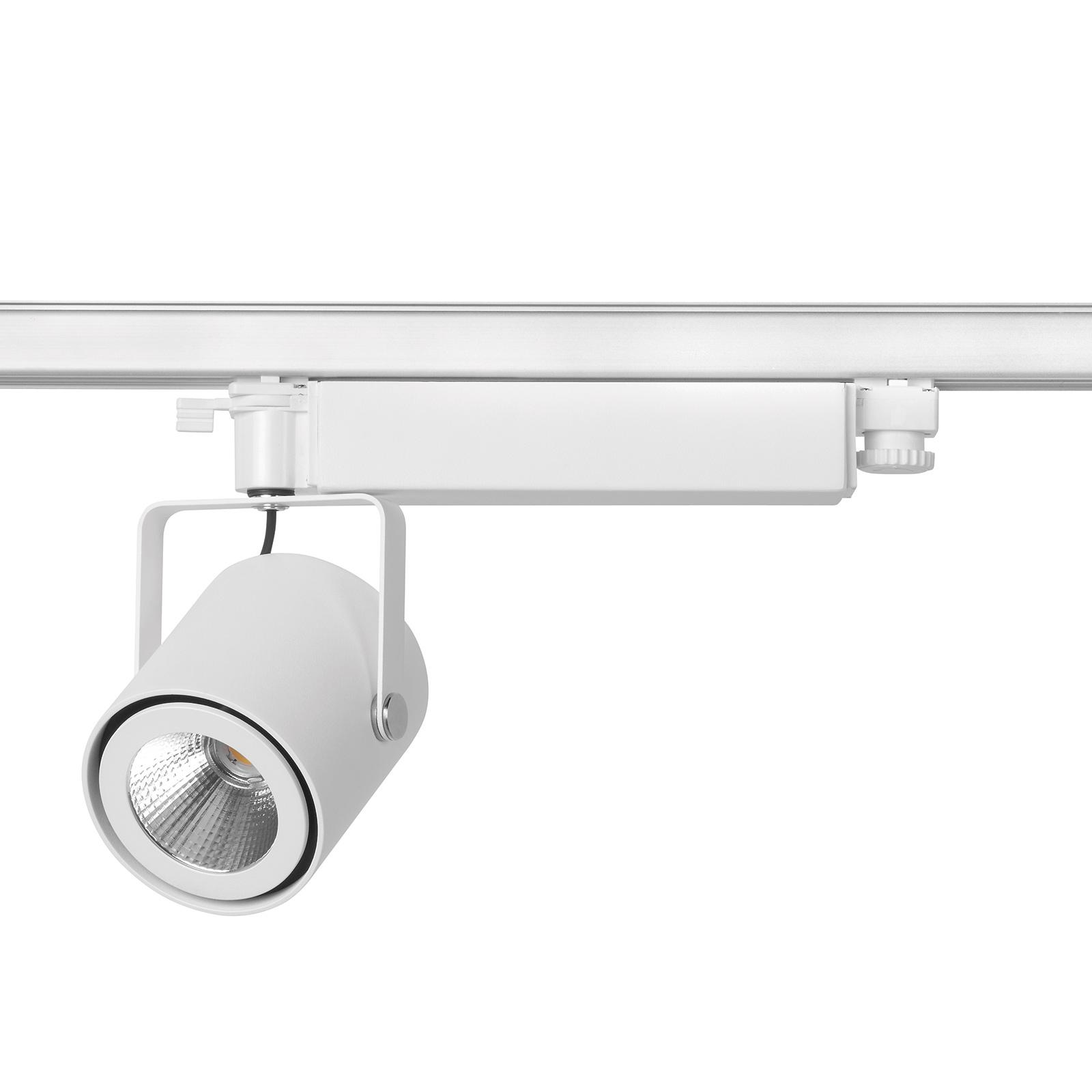 Flessibile faretto LED da binario Avior Surfaced