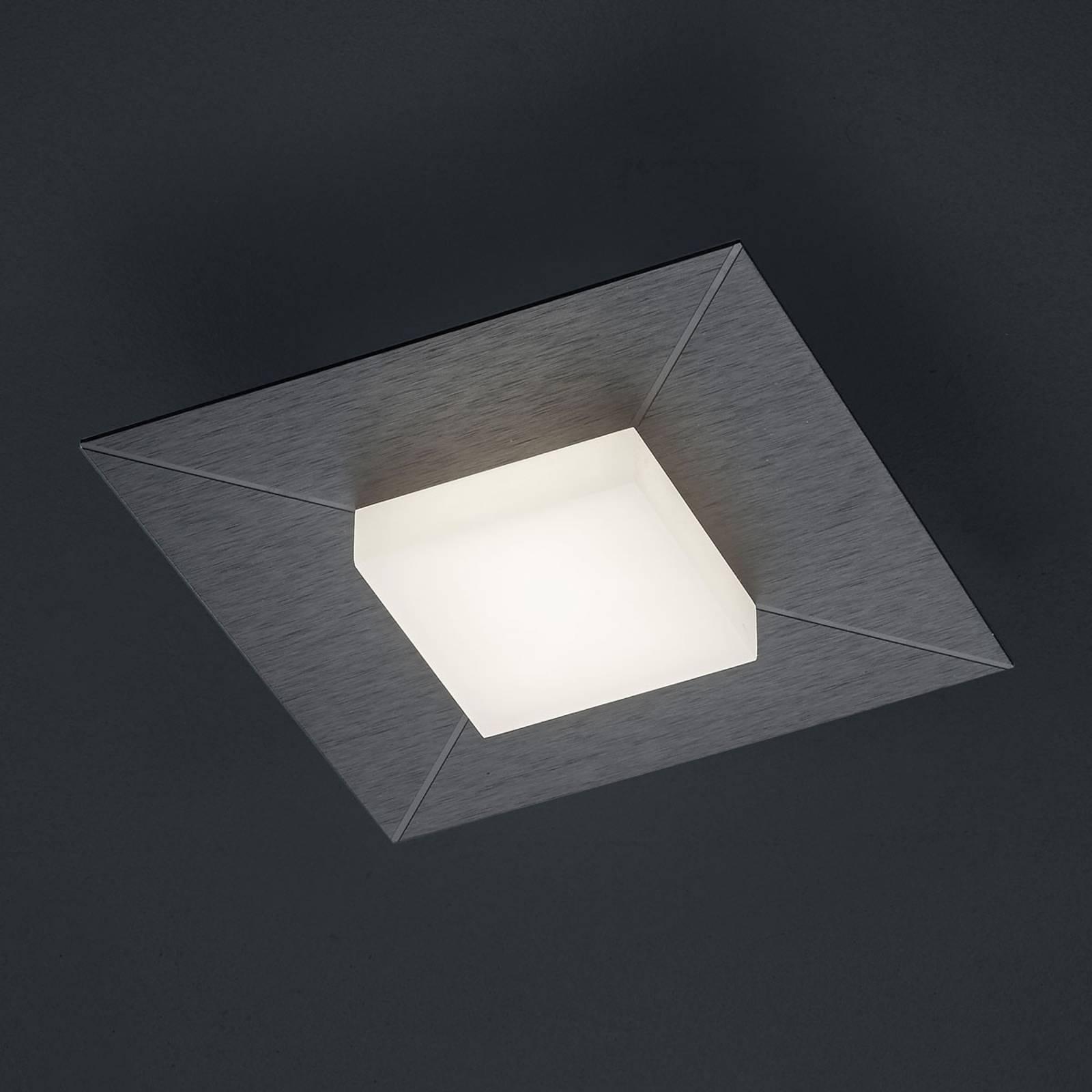 BANKAMP Diamond Deckenleuchte 17x17cm, anthrazit