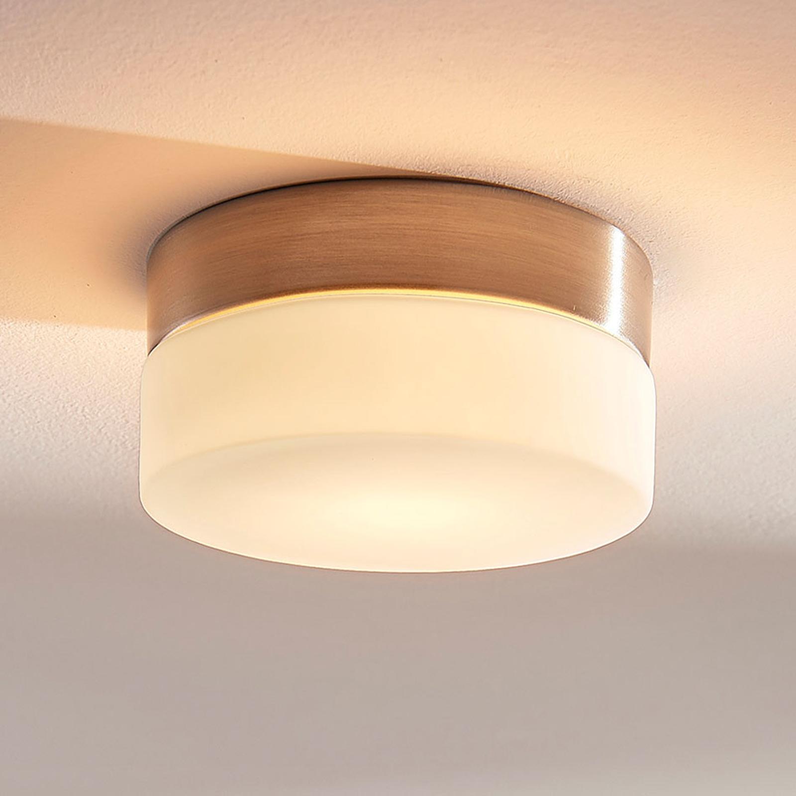 Okrągła łazienkowa lampa sufitowa Amilia