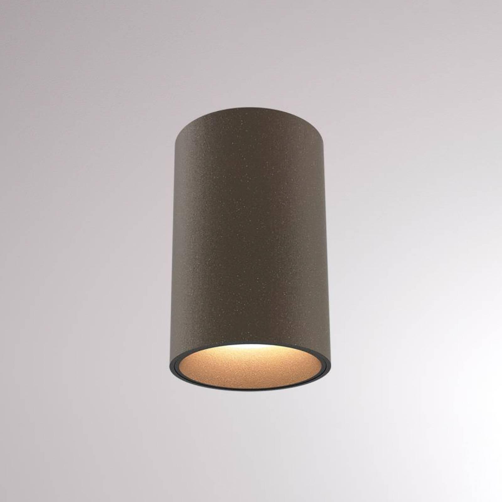 LOUM Atus Round LED-Deckenleuchte terra