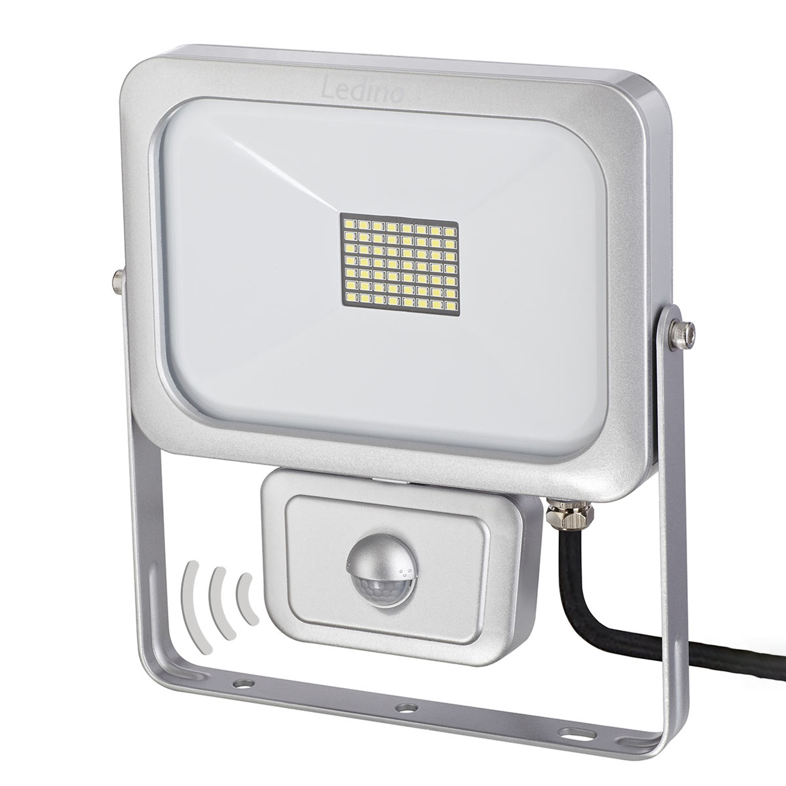 LED schijnwerper Laim met PIR-sensor, 30W