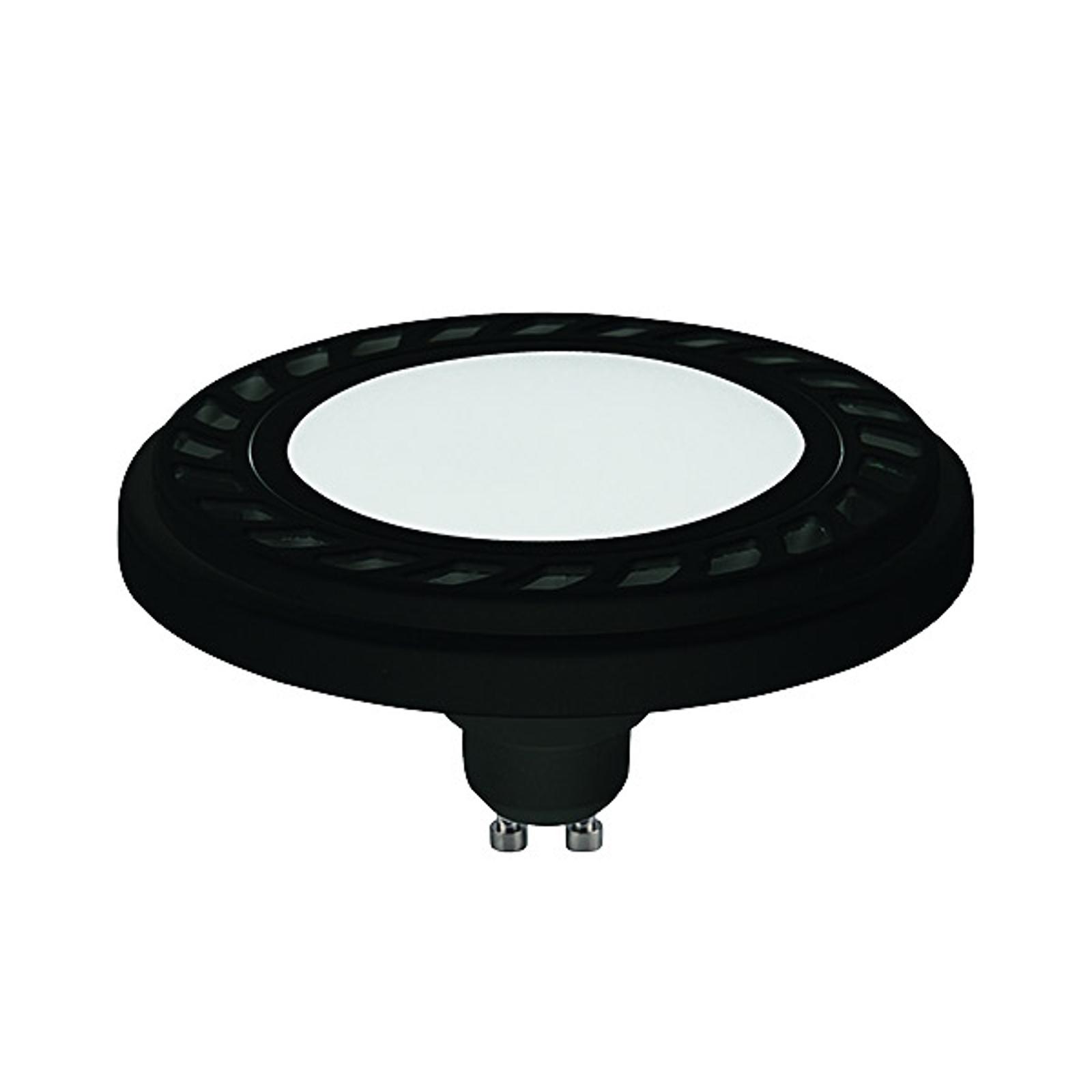 LED-Reflektor GU10 ES111 9W 120° schwarz 4.000K