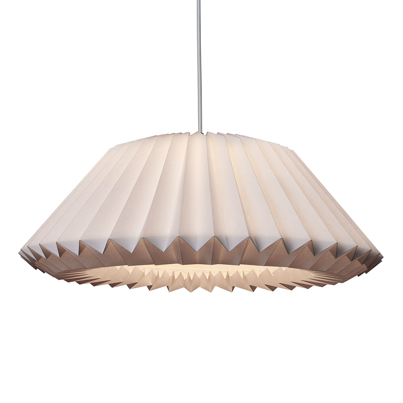 LE KLINT Megatwo hanglamp in Wit, large