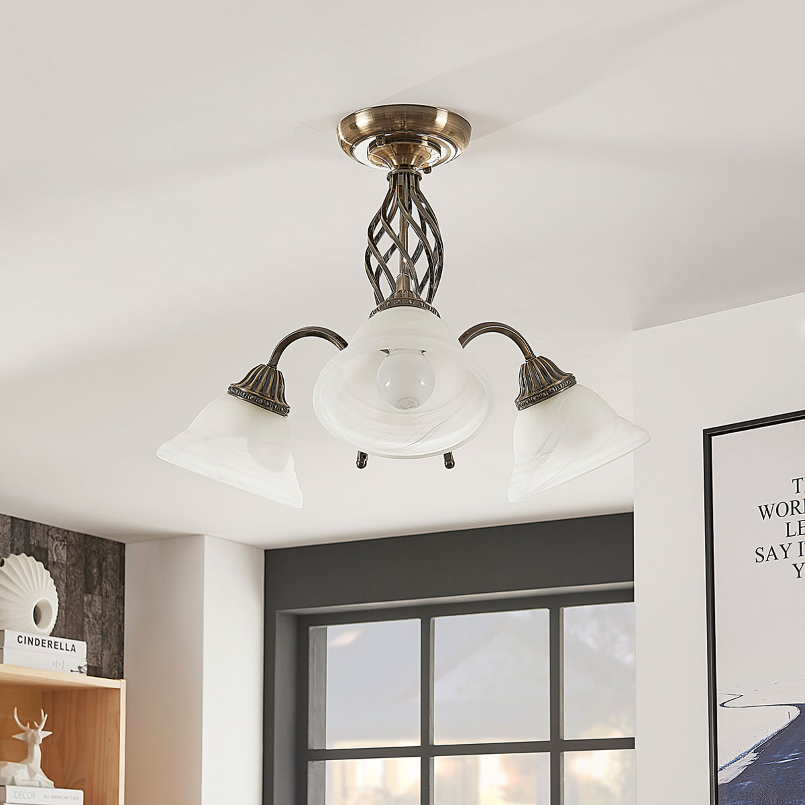 3 Bulb Ceiling Light Mialina Lights Co Uk