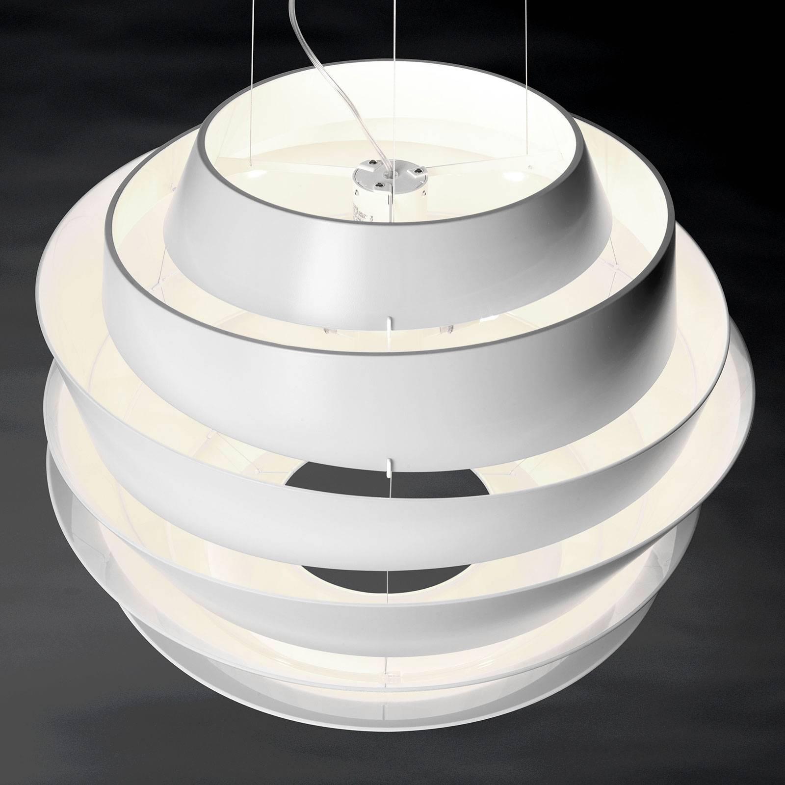 Foscarini Le Soleil LED-Hängeleuchte weiß, dimmbar