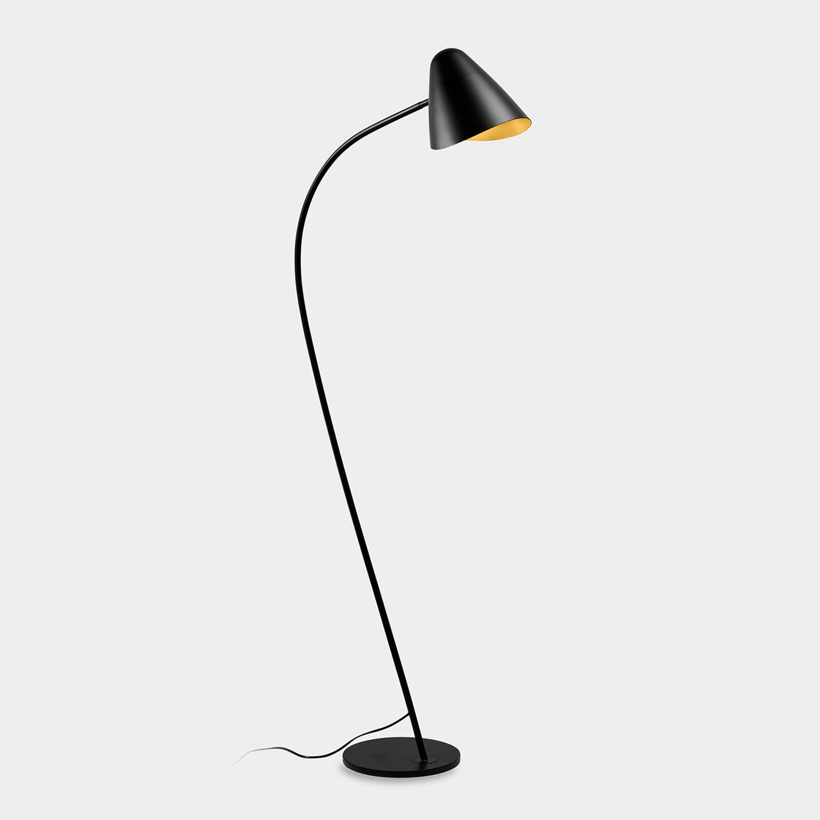 LEDS-C4 Organic lampadaire, tête inclinable