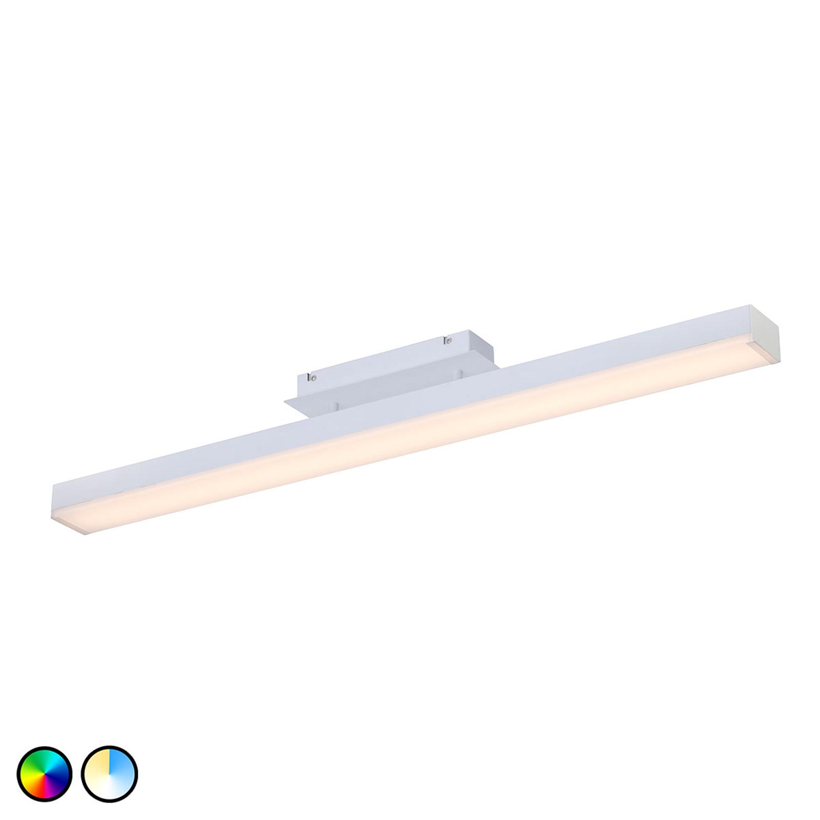 Trio WiZ Livaro lampa sufitowa LED biała matowa