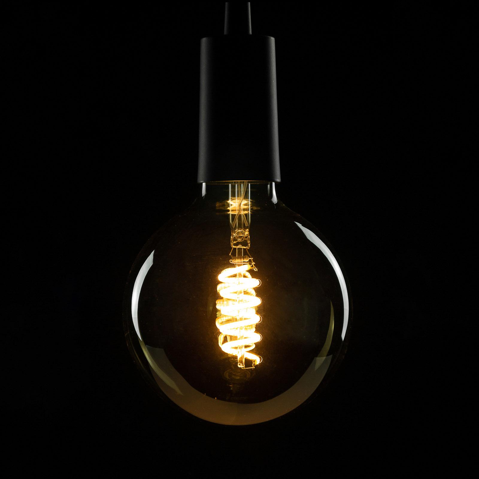SEGULA LED E27 8 W G125 Curved ambient smoke