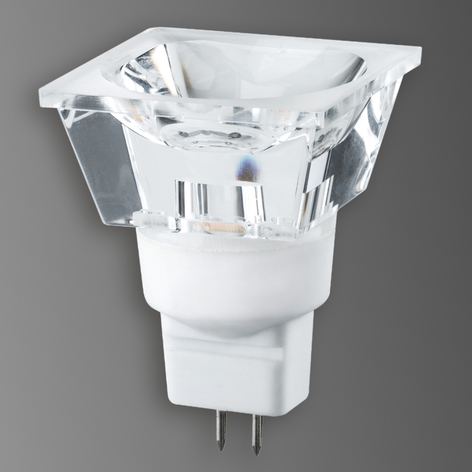 GU5,3 3W LED-reflektor Diamond, firkantet