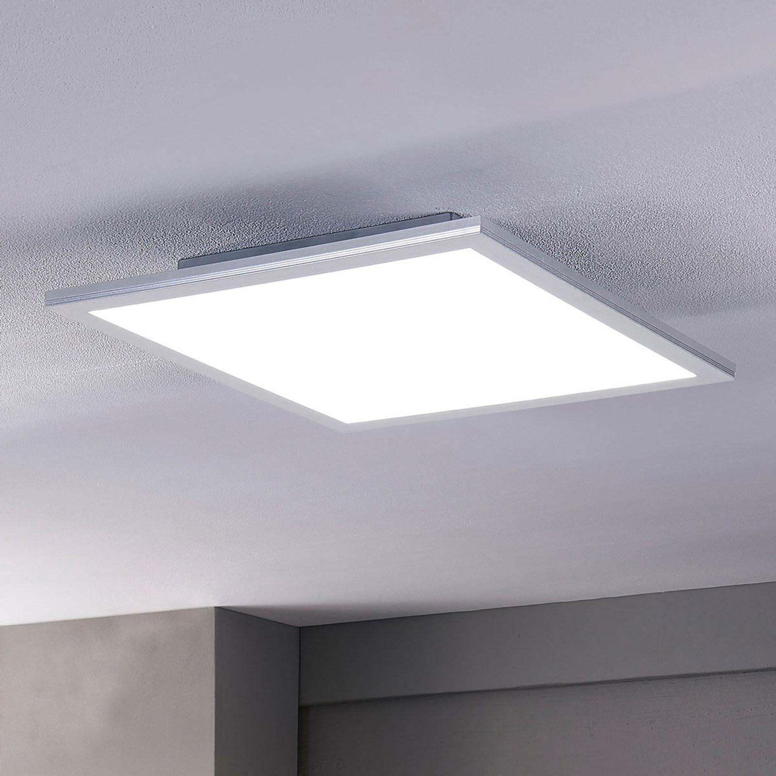 Lindby Livel LED paneel, CCT, 40 cm x 40 cm