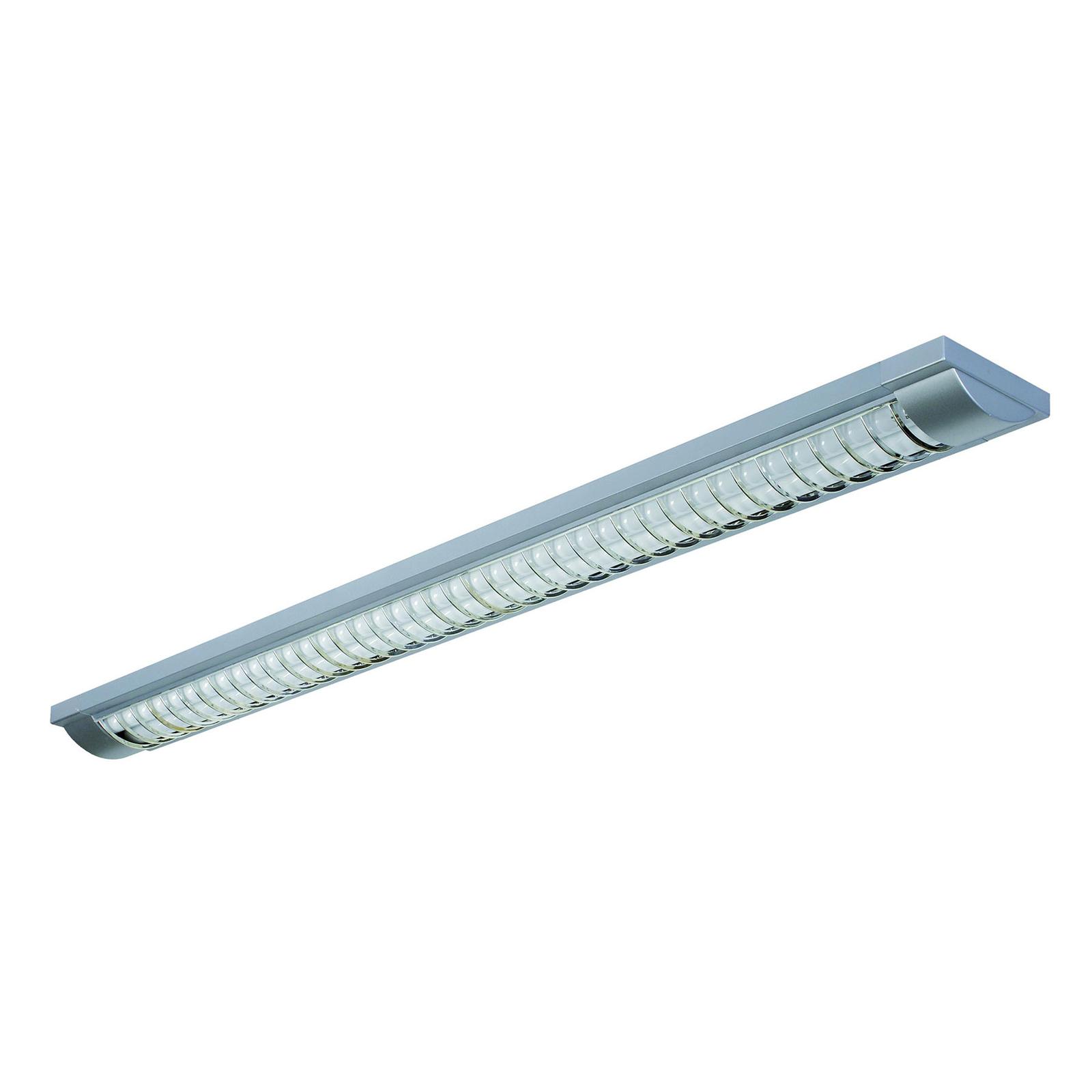 LED rasterlampa 44 med G13/T8, silver
