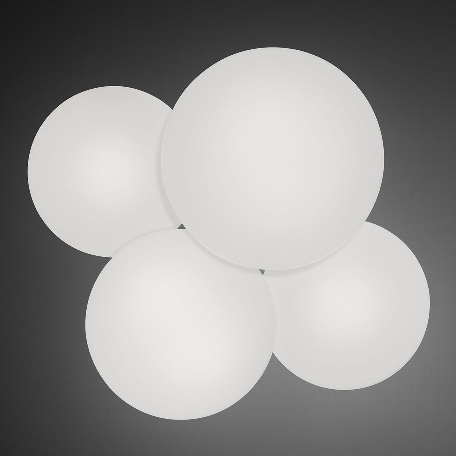 Loftlampen Puck, 4 lyskilder