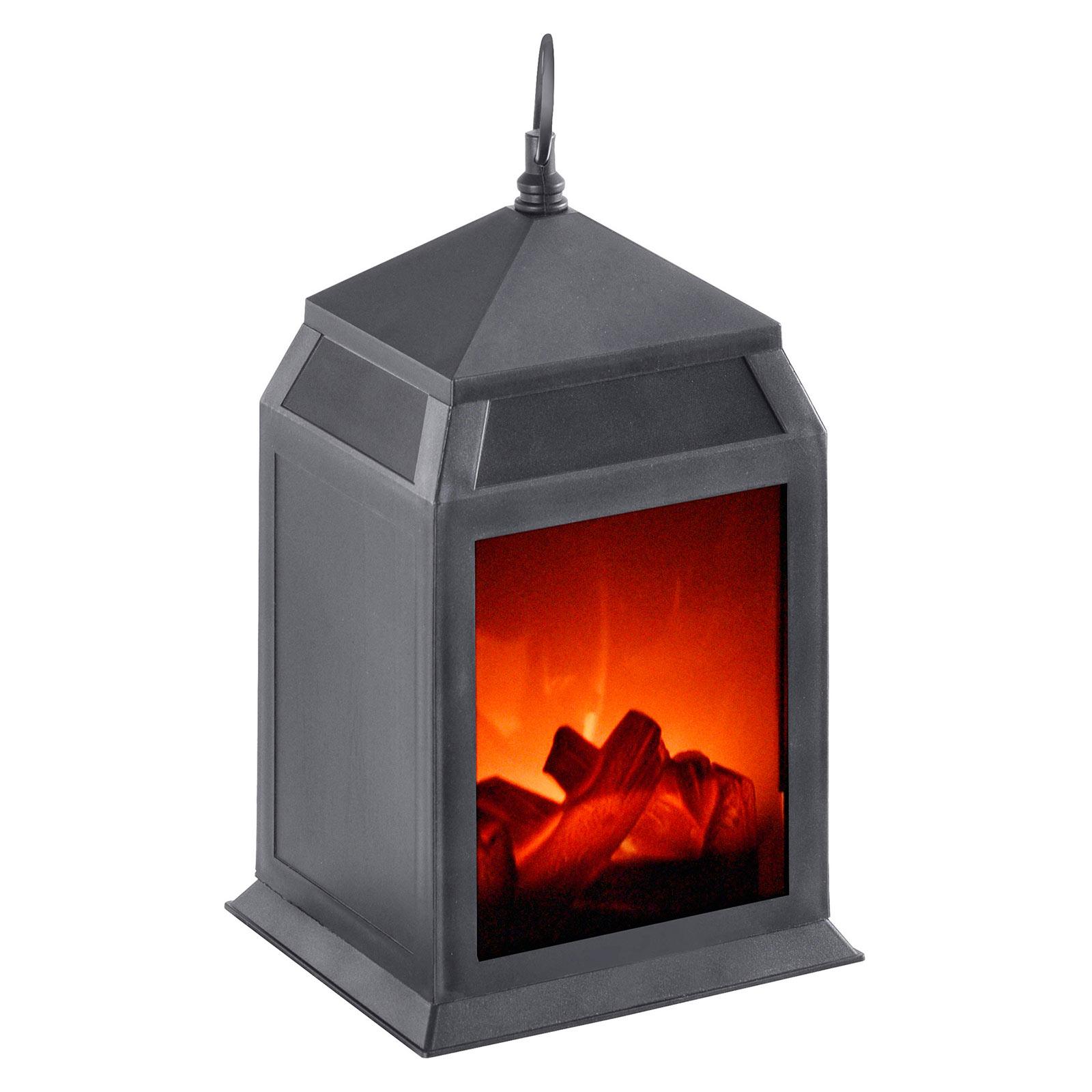 LED-Dekoleuchte Chimney, tragbar, Breite 15,8 cm