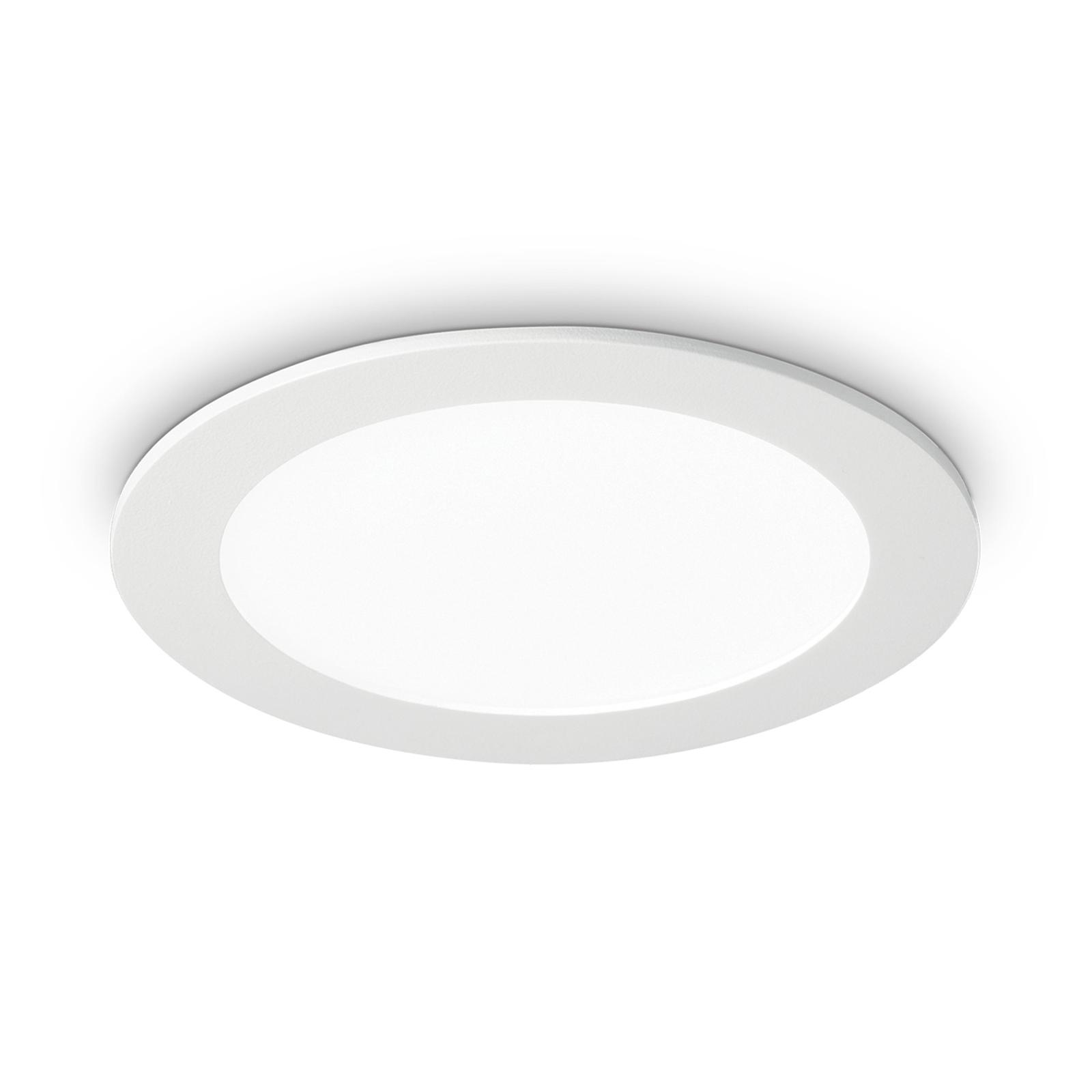 LED-Deckeneinbauleuchte Groove round 3.000K 16,8cm