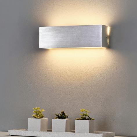 Eckige Alu-LED-Wandlampe Ranik