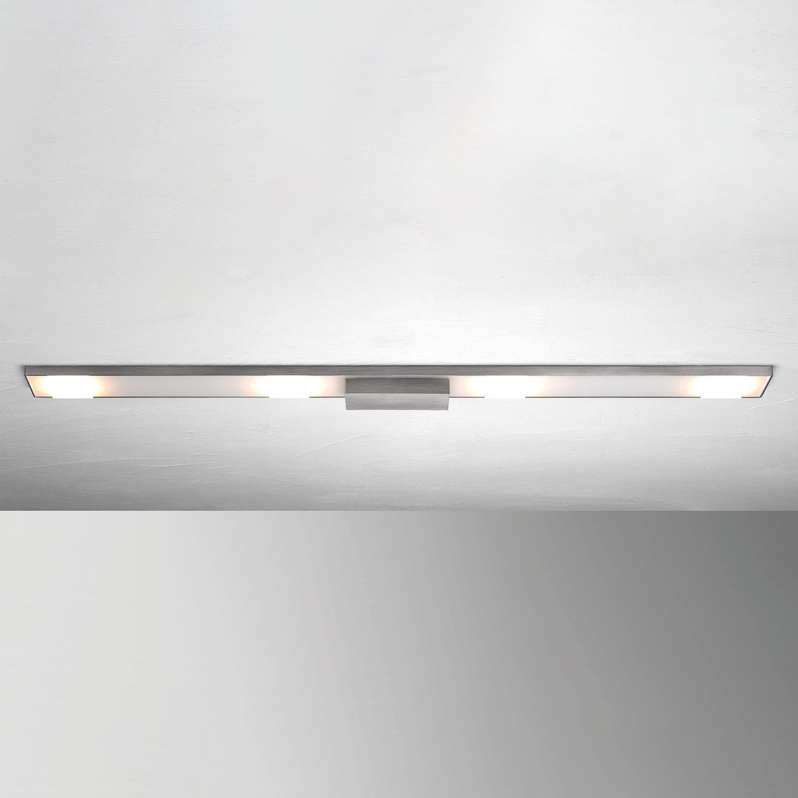 4-punktowa lampa sufitowa LED Slight, antracyt