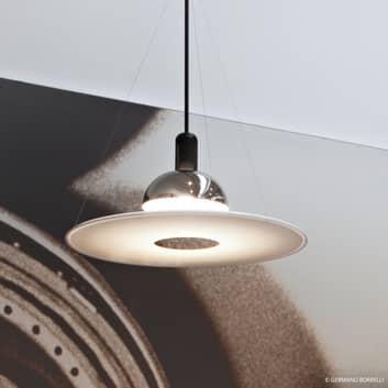 FRISBI - hanglamp met witte schijf