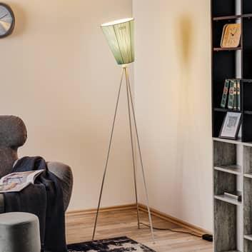 Northern Oslo Wood stojací lampa bílá/světle modrá