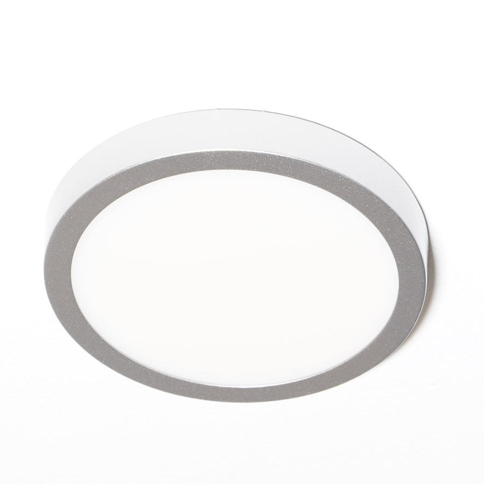 Bardzo płaska lampa sufitowa LED Vika, 18 cm