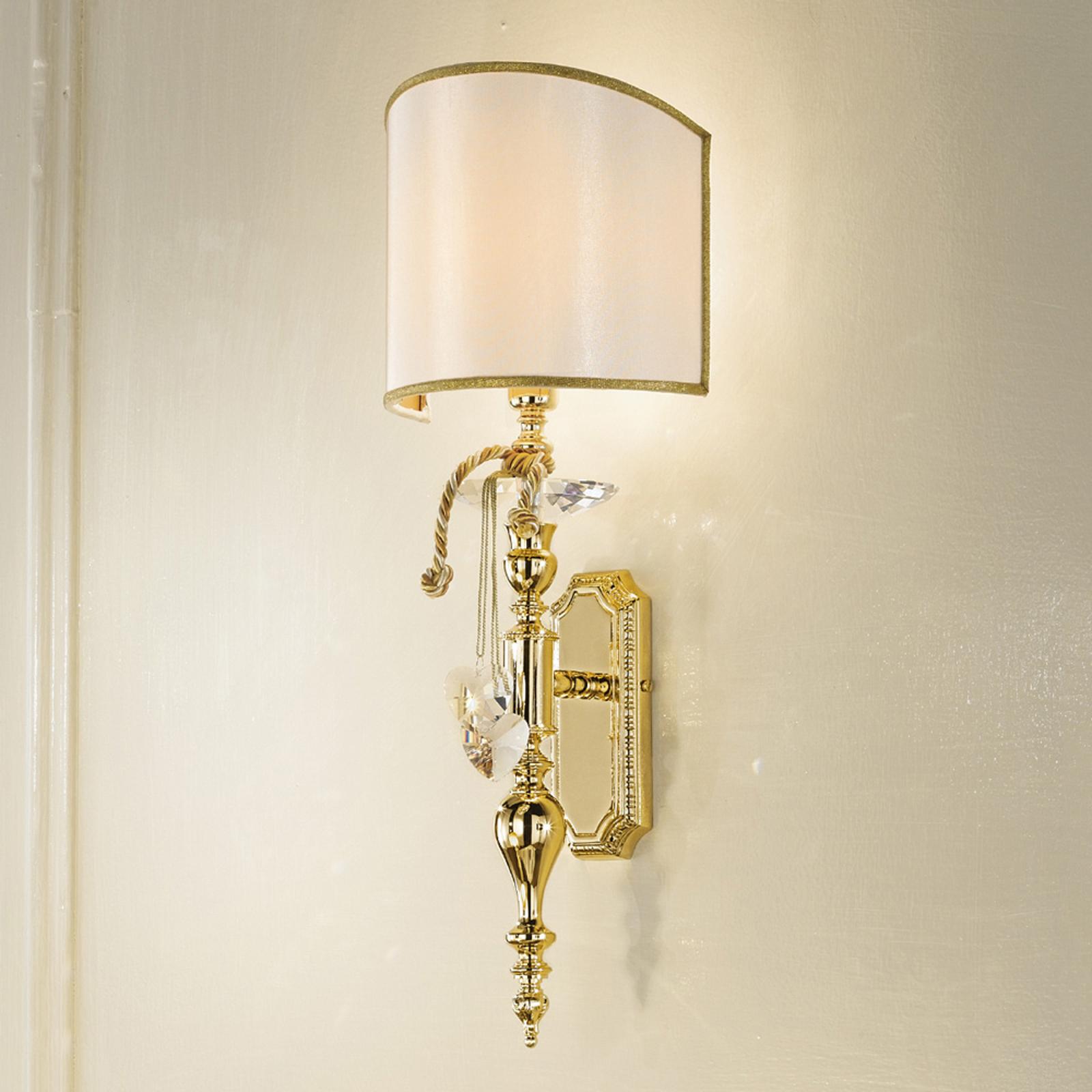 Klasyczna lampa ścienna Teodora