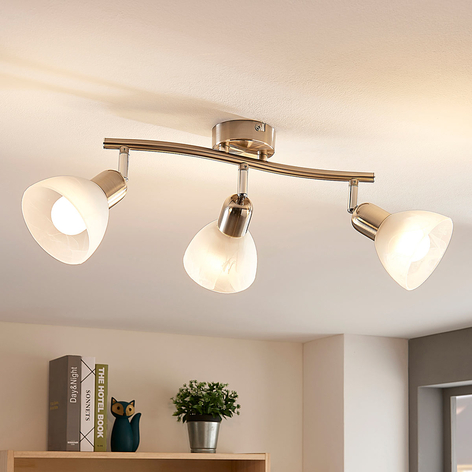Lindby Paulina LED-taklampa, 3 lampor, avlång