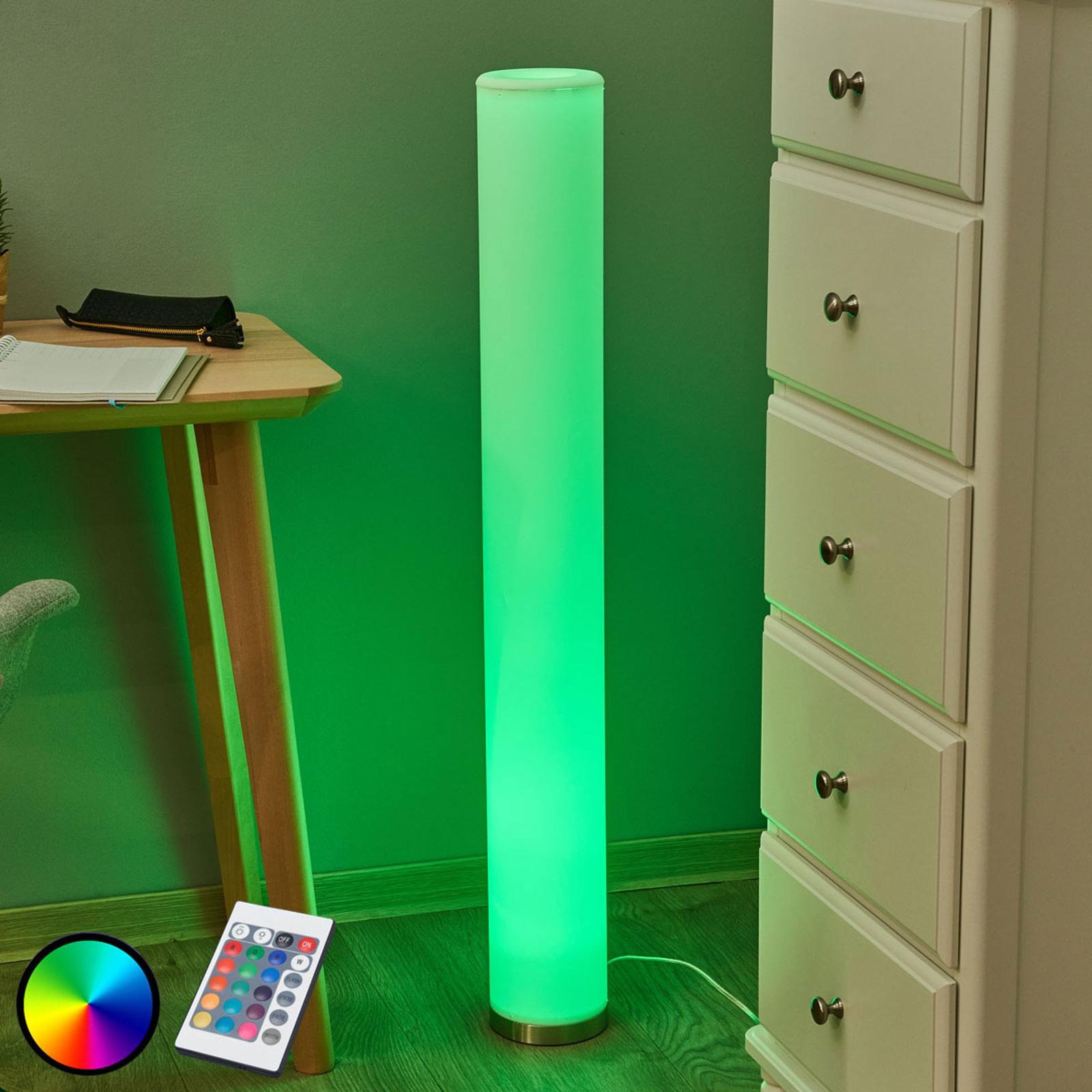 Lampa stojąca LED Mirella, RGB, kolorowe światło