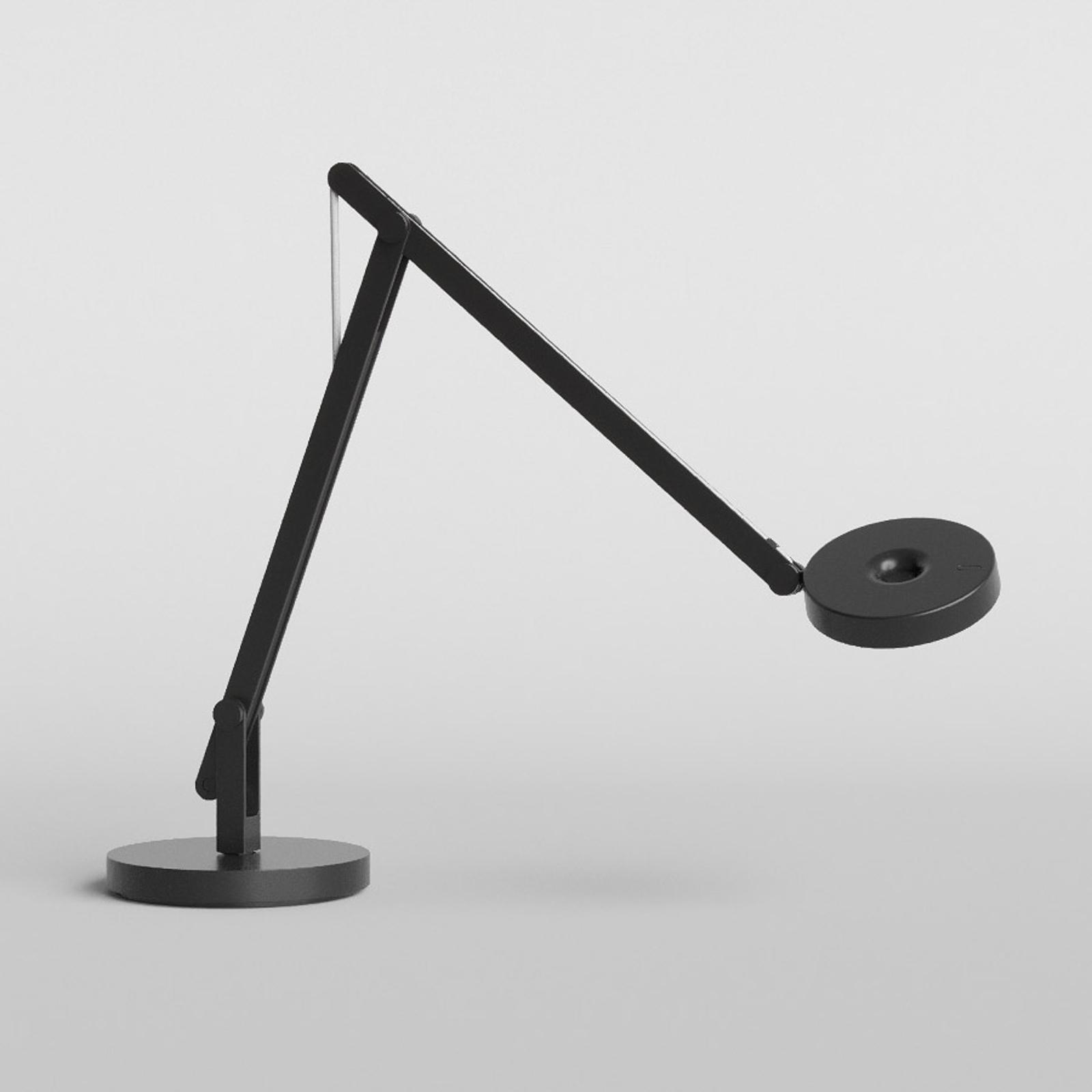 Rotaliana String T1 Mini LED-Tisch schwarz, silber