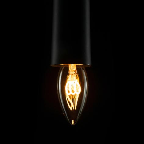 E14 2,7W 922 Bombilla filamentos LED curvados vela