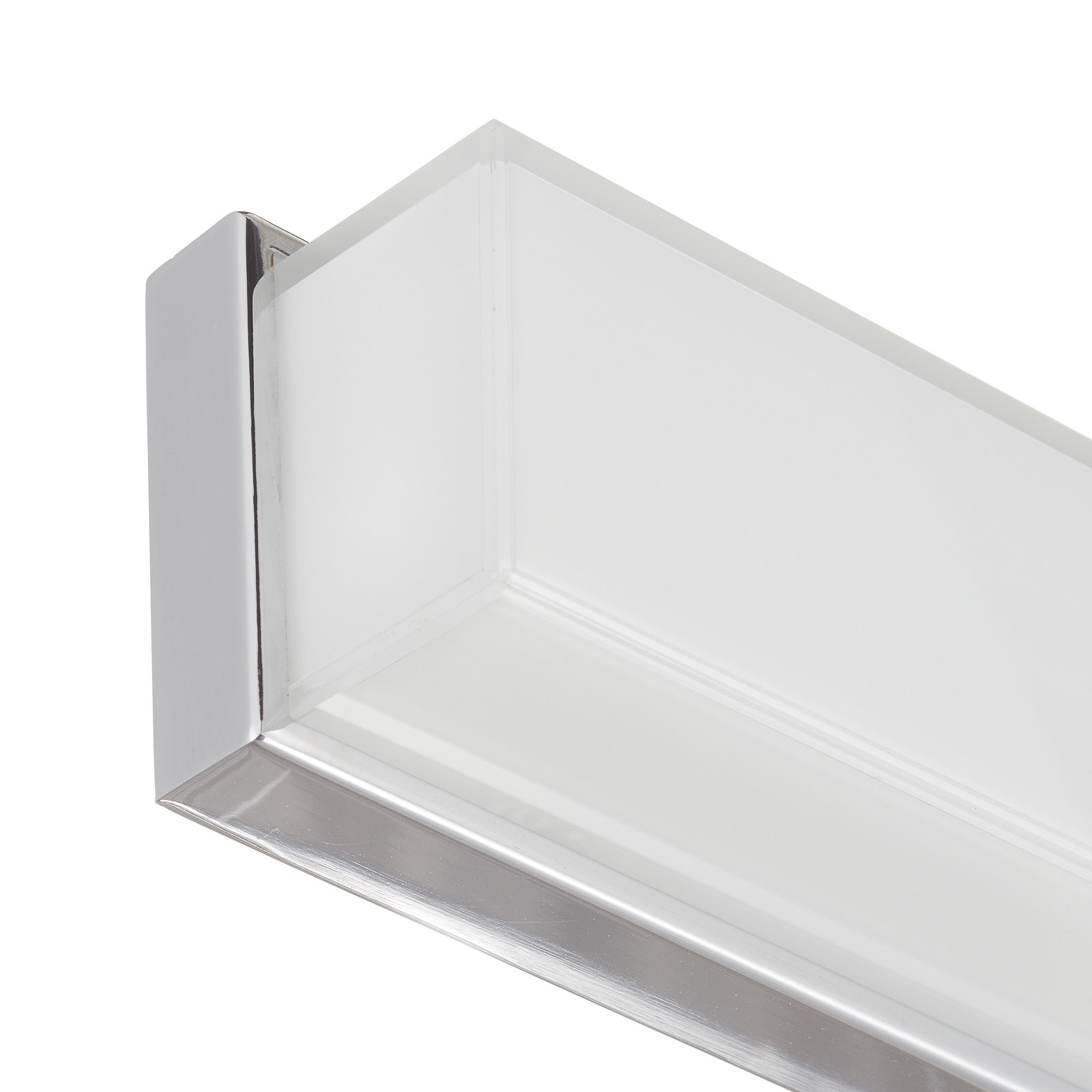 Helestra Cosi aplique LED cromo altura 31 cm