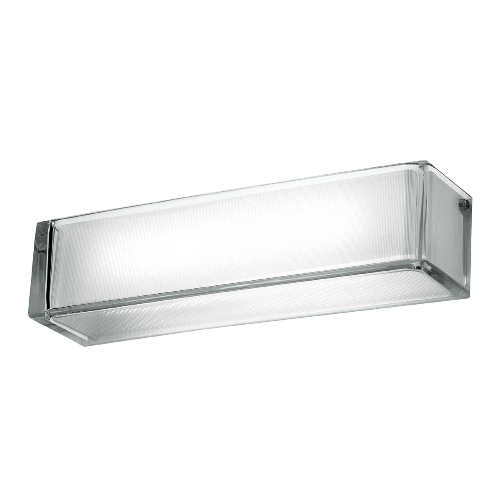 FLOS Ontherocks – nástenné svietidlo zo skla
