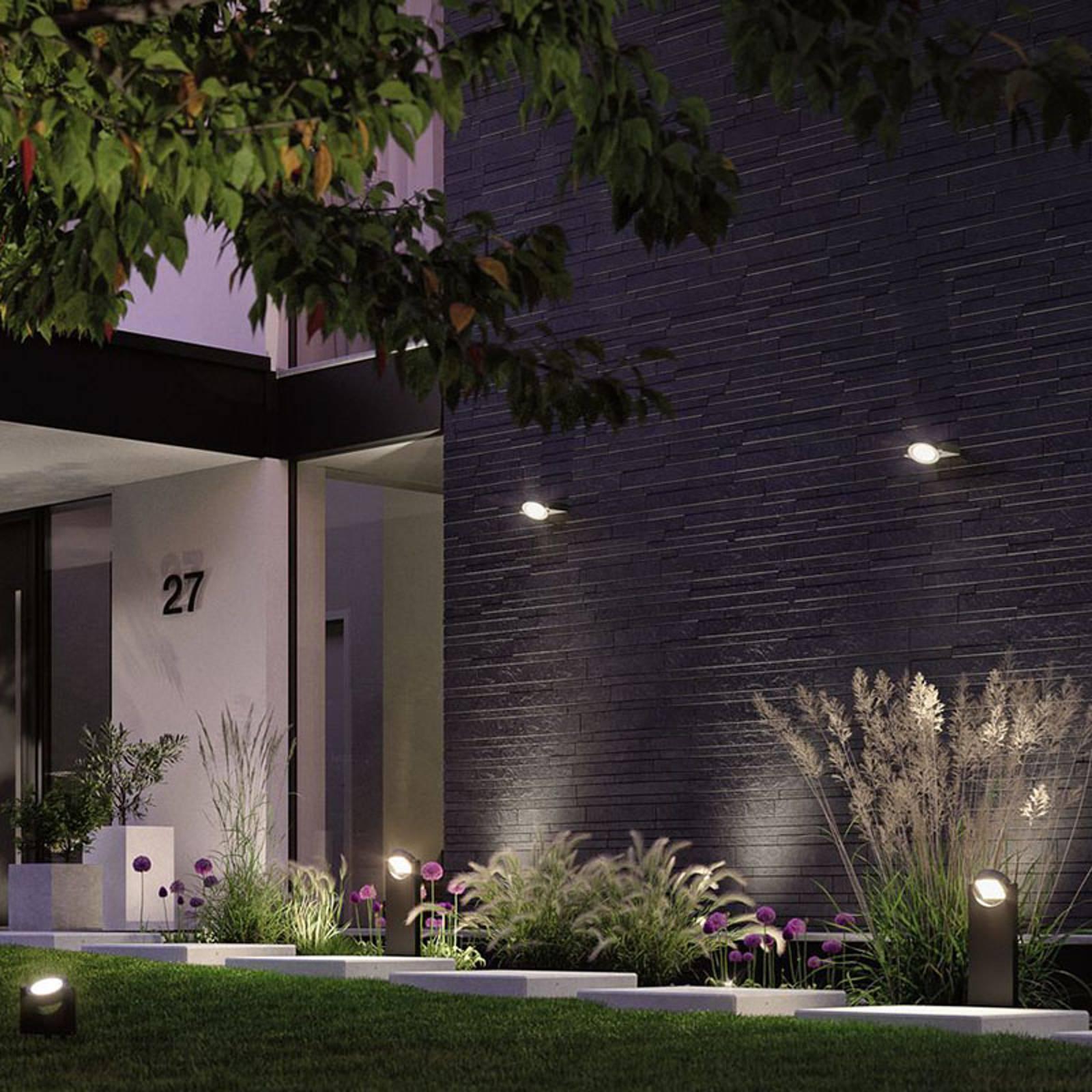 Paulmann Swivea LED-Außenwandleuchte, kardanisch