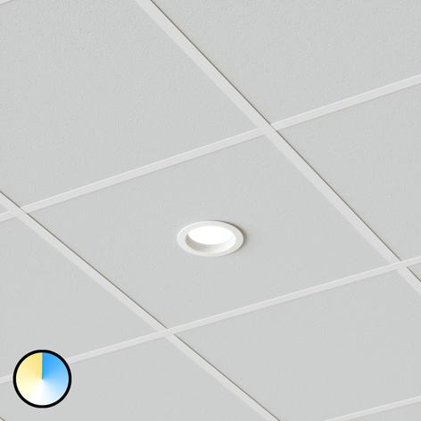 Led inbouwlamp Piet, 12W selecteerbare lichtkleur
