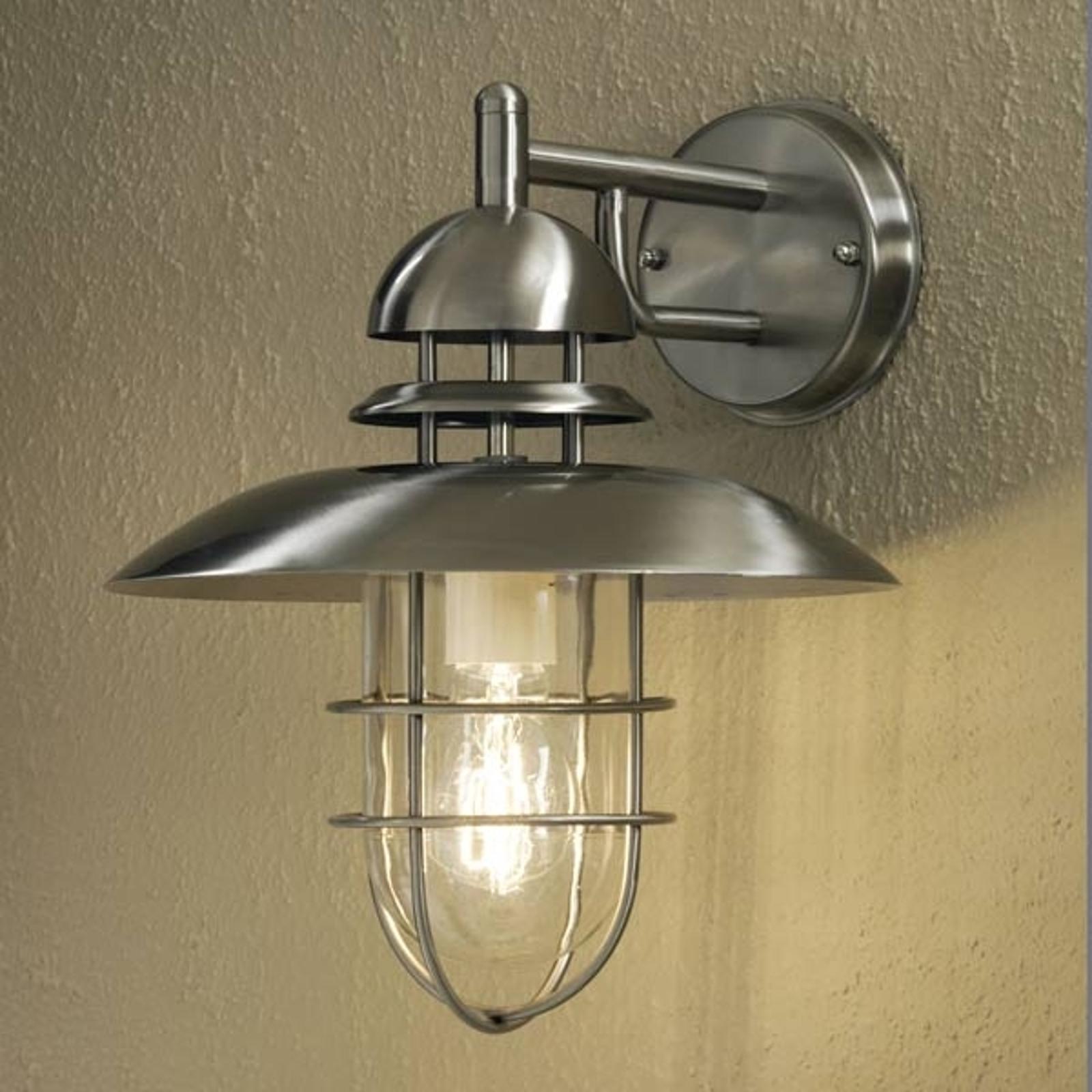 Nowoczesna zewnętrzna lampa ścienna