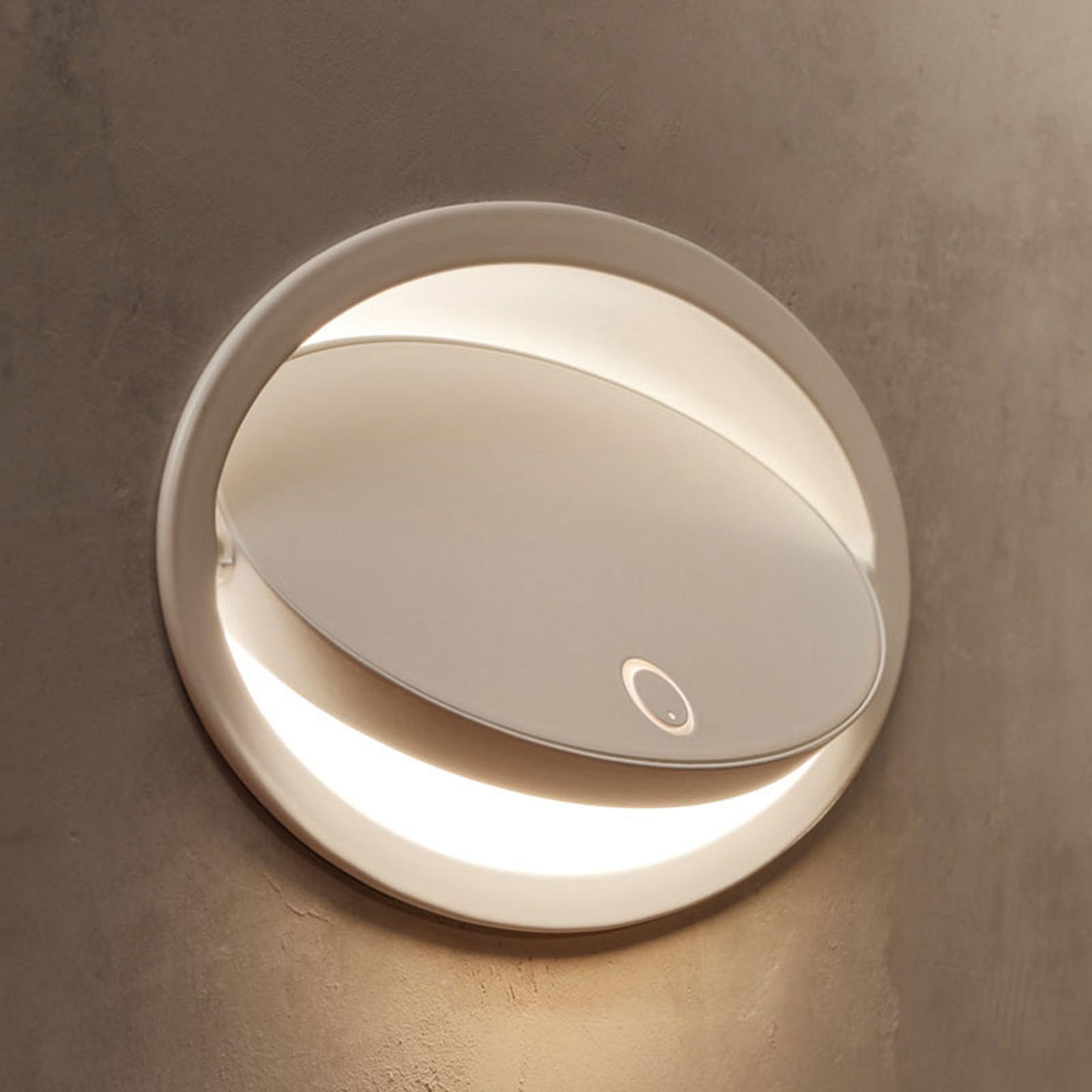 Grok Ely applique LED encastrée, variateur tactile