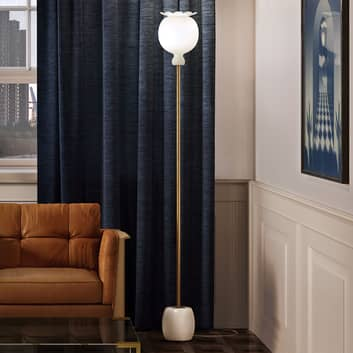 Kundalini Opyo lampada da terra, vetro soffiato