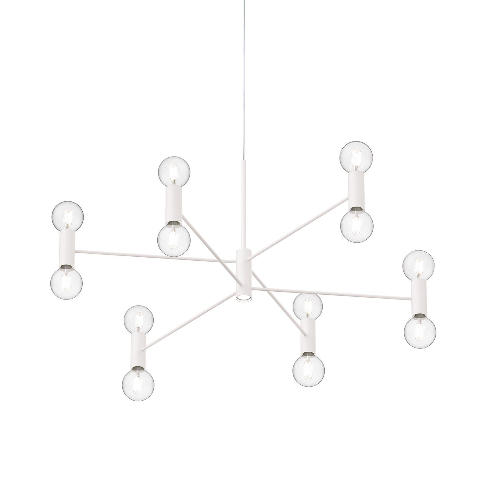Modo Luce Chandelier lampa wisząca 107cm biała