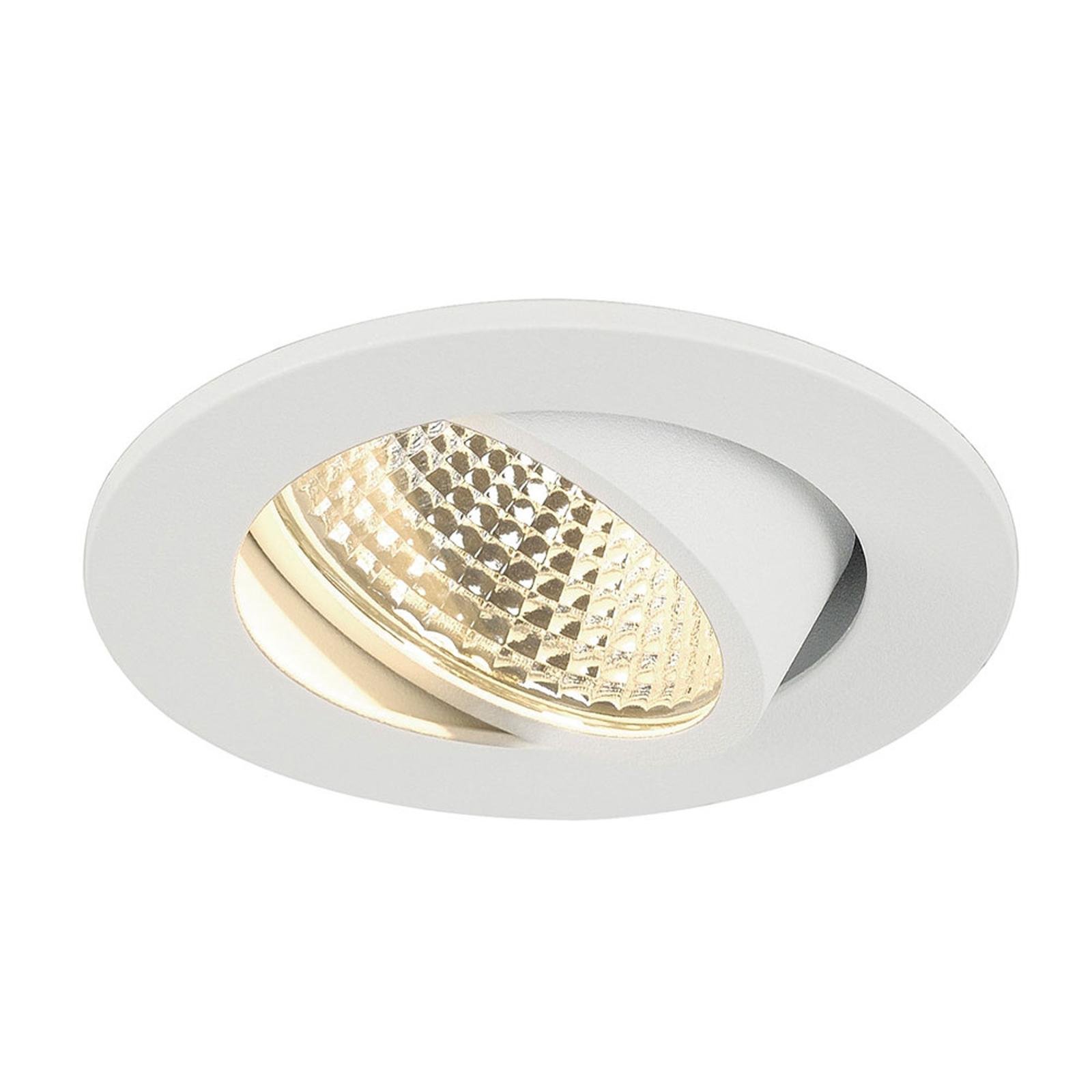 SLV New Tria 1 Set spot encastrable LED rond blanc