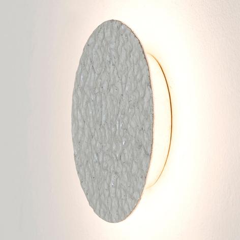 Applique LED Meteor, Ø 27 cm, argento