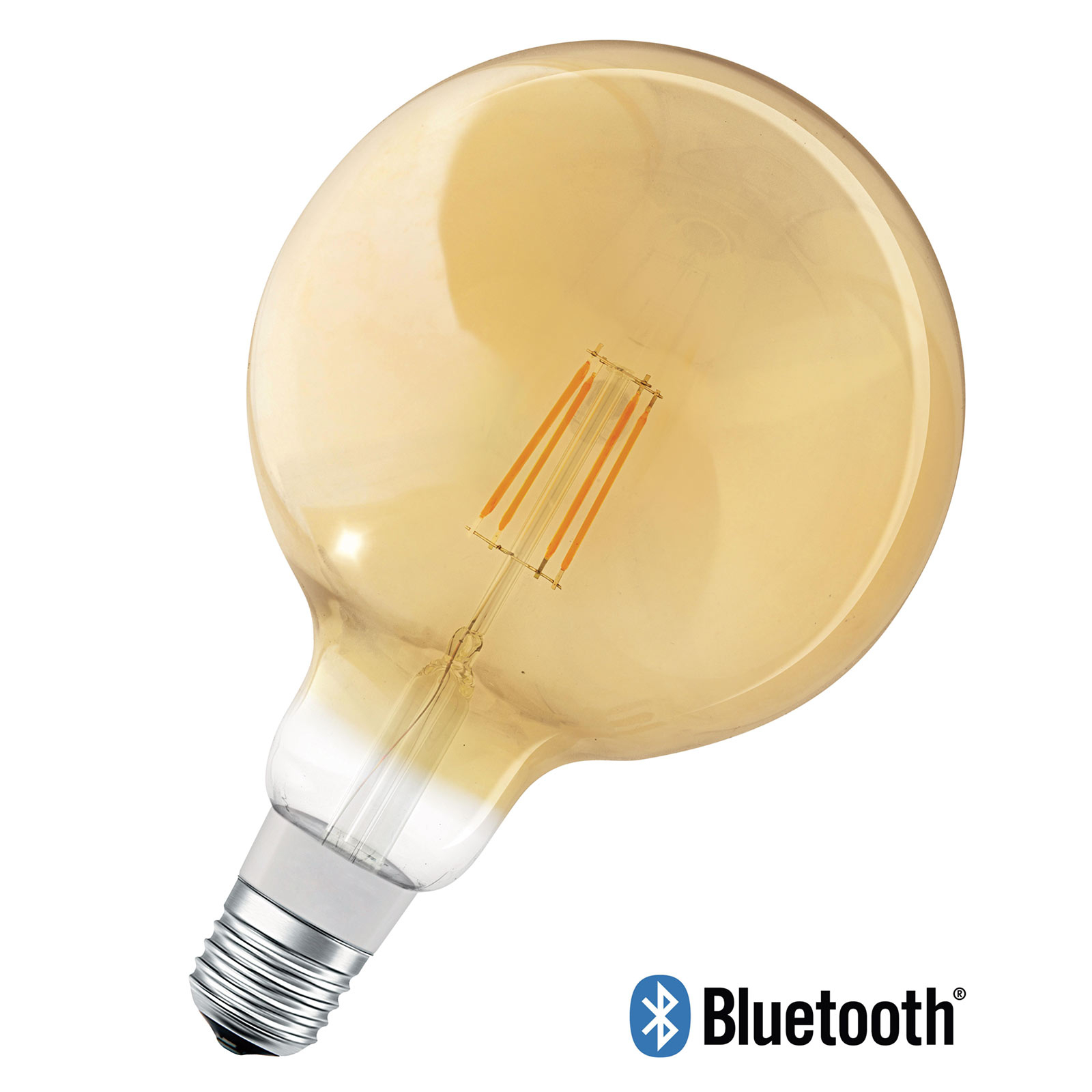 LEDVANCE SMART+ Bluetooth E27 Amber Globe 5,5W
