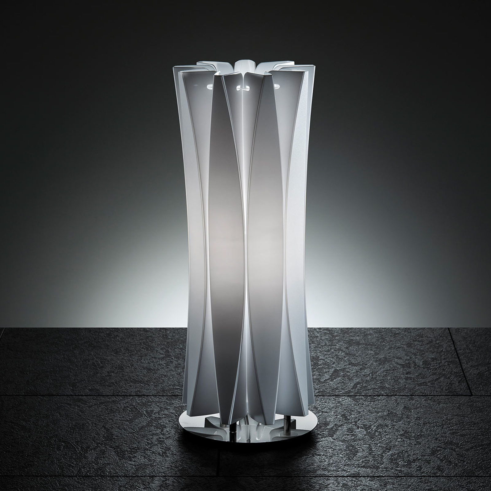 Slamp Bach tafellamp, hoogte 42 cm, wit
