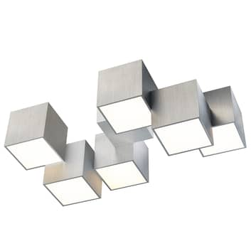 GROSSMANN Rocks LED-loftlampe, 6 lyskilder