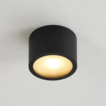 Arcchio Nieva downlight, G9, czarny, okrągły