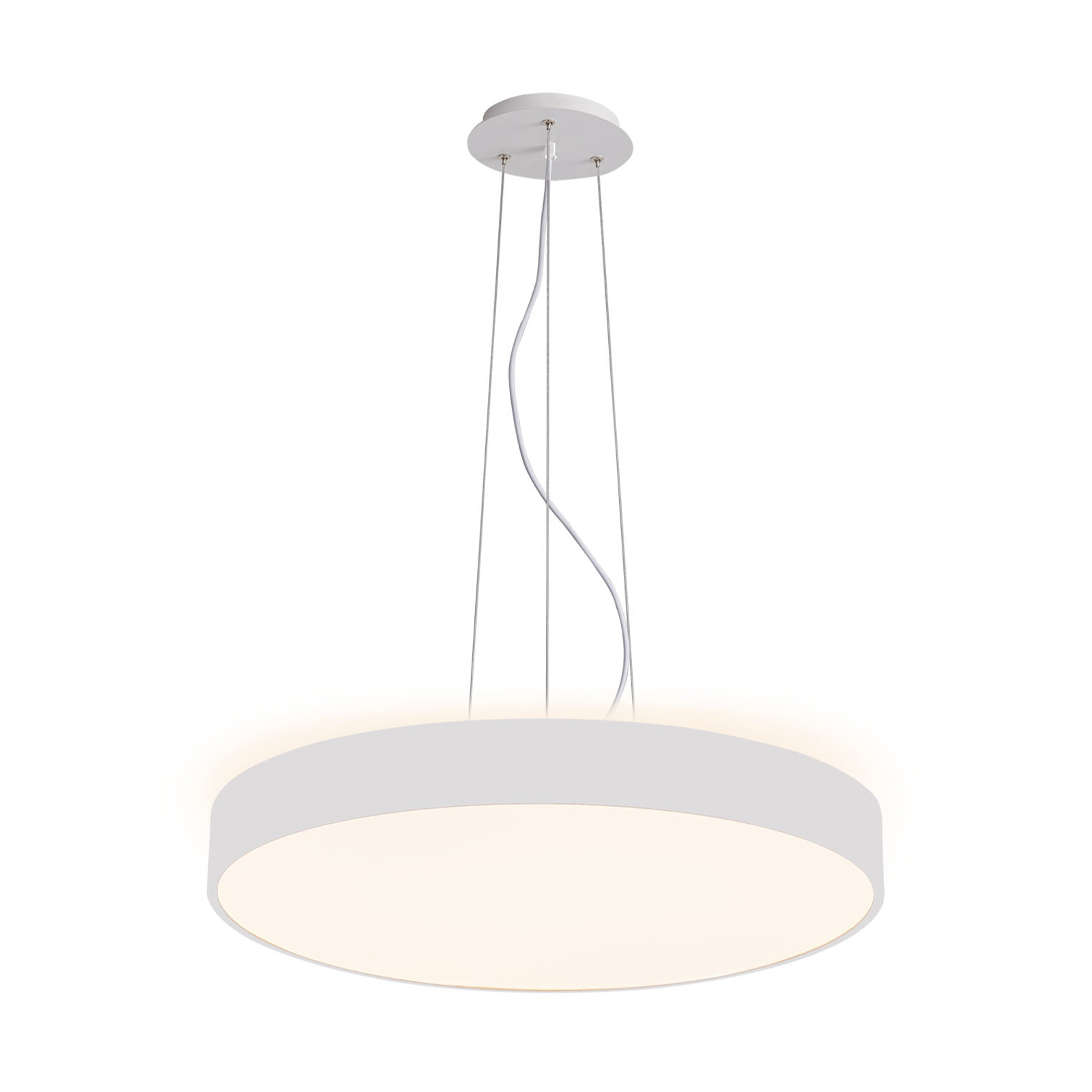 Arcchio Vanida LED-hengelampe, hvit, 40 cm