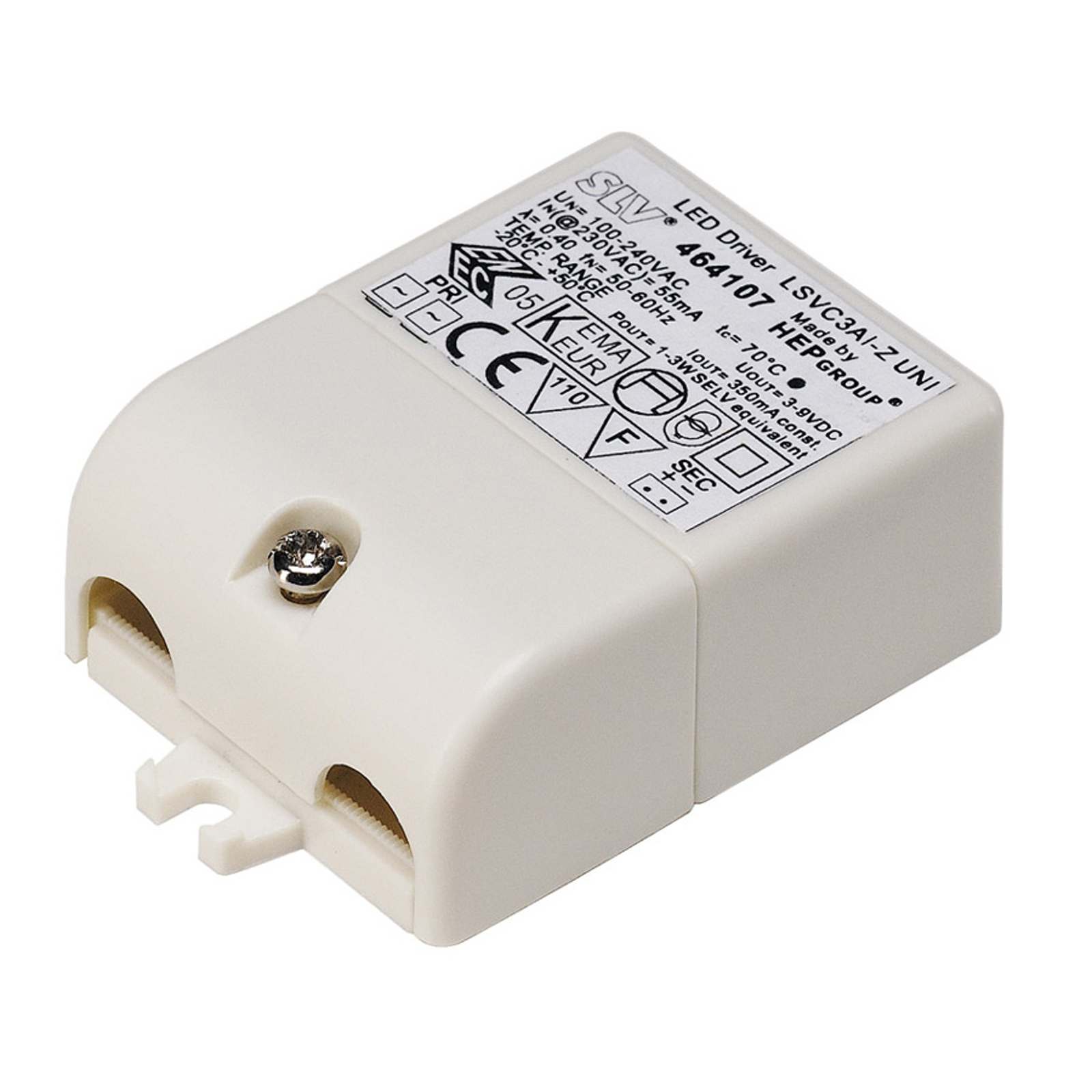 LED-driver for downlight Lightpoint 3 W, 350 mA