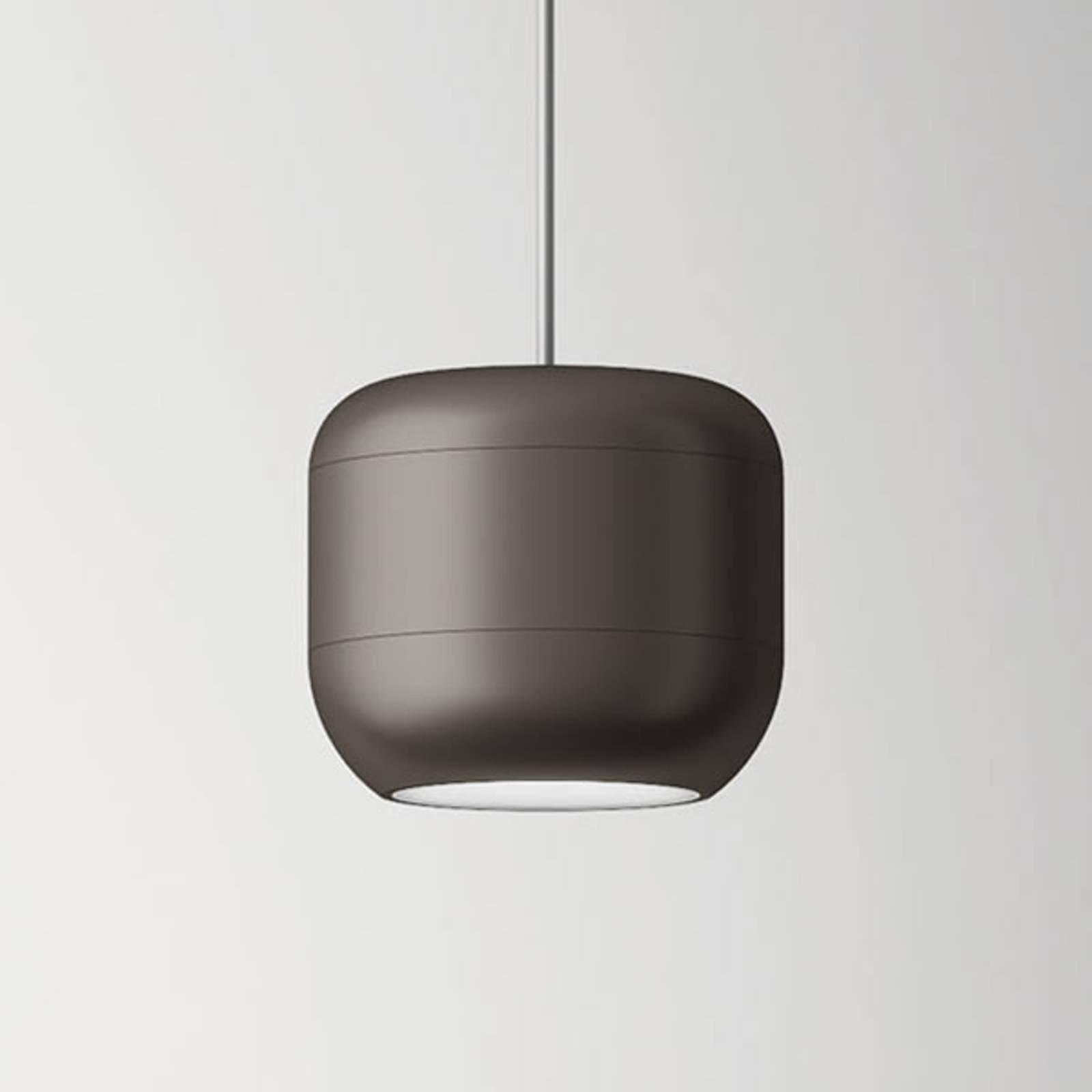 Axolight Urban LED-Pendelleuchte 16 cm nickel matt