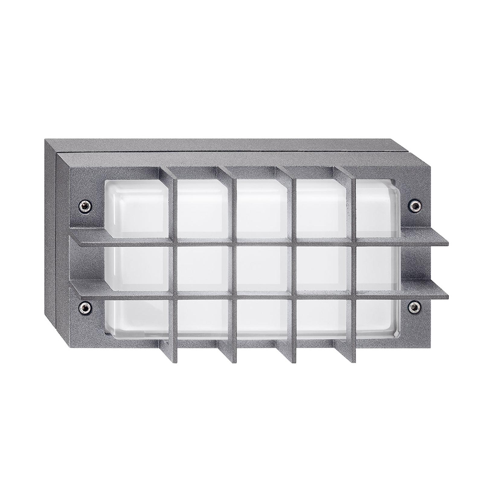 Utendørs LED-vegglampe Bliz LED Guard, 3000K, grå