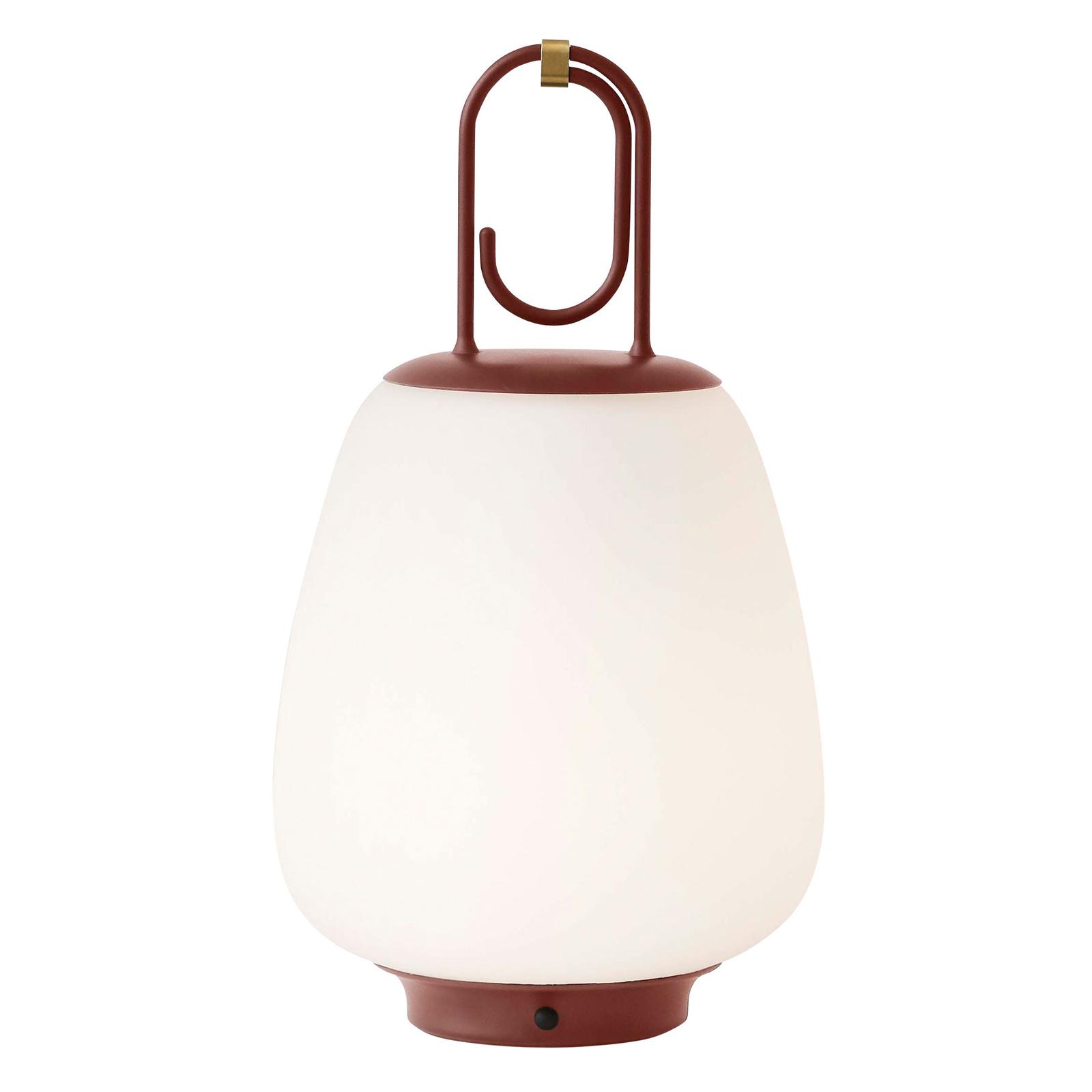 &Tradition Lucca SC51 bordlampe IP44, kastanje